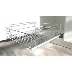 Εξαρτηματα κουζινας - Εξοπλισμος κουζινας - Καλάθι τροφοθήκης με φρένο για ντουλάπι 55εκ. ΒΑΓΟΝΕΤΑ
